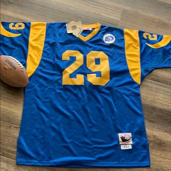 🔥SALE🔥LA Rams Eric Dickerson throwback jersey. NWT. Mitchell   Ness 7a6cff5d3
